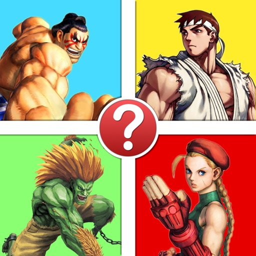 Video Game Character Quiz - The Ultimate Street Fighter Edition iOS App