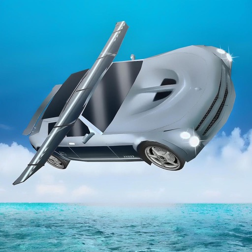Free Sports Flying Car Simulation 2017 iOS App