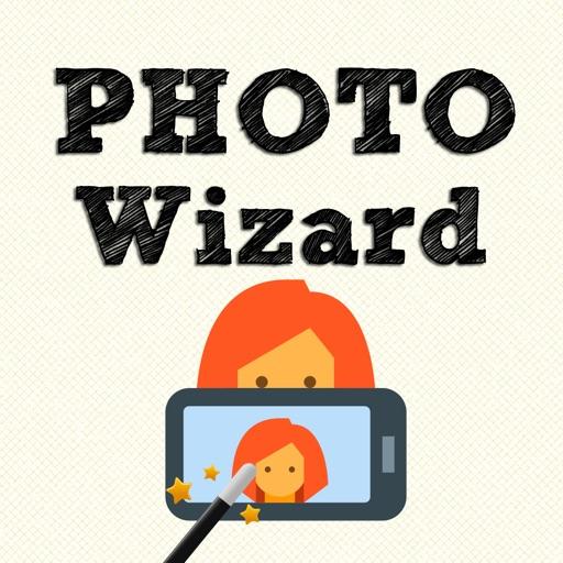 Photo Wizard - Easy photo editor & share iOS App