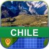 當前離線 智利 地圖 - World Offline Maps