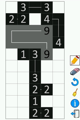 FCross Link-a-Pix Puzzles screenshot 3