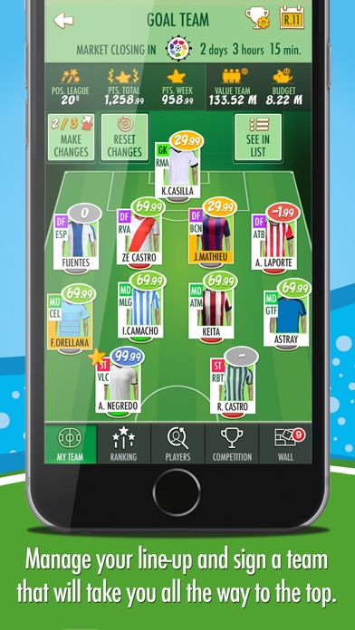 download BeManager - Manage your football team apps 0