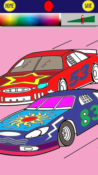 Speed Car Coloring Book For Adults