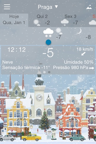 Awesome Weather YoWindow screenshot 3