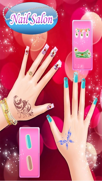 Christmas princess nail salon nail art games on the app store iphone screenshot 4 prinsesfo Gallery