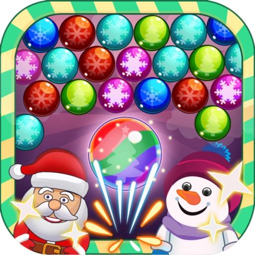 Bubble Santa Christmas Free Game iOS App