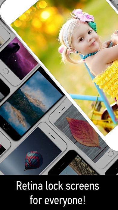 download Wallpapers Themes- Custom Lock Screens,Backgrounds apps 2