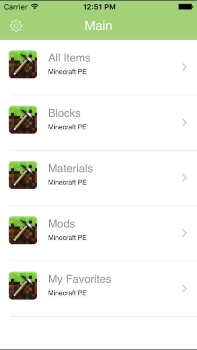 Block ID Toolbox for Minecraft PE Pocket Edition screenshot 1