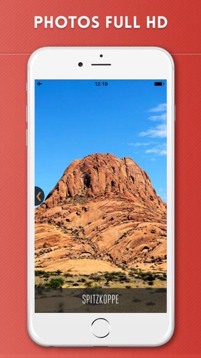 Namibie Guide de Voyage avec Carte OfflineCapture d'écran de 2