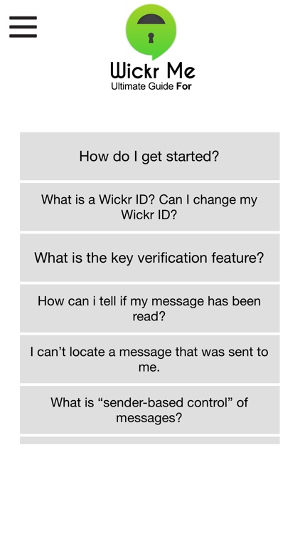 Ultimate Guide For Wickr Me by Fawad Ghafoor