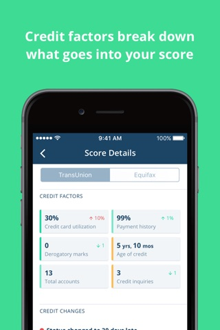 Credit Karma screenshot 2