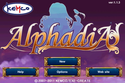 RPG Alphadia screenshot 1