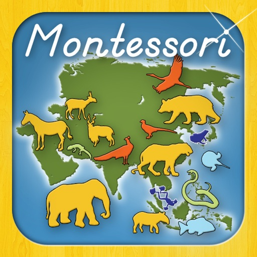 Animals of Asia - A Montessori Approach To Geography HD