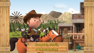 Screenshot of Il cow-boy - Piccolo Eroe2