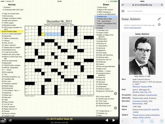 Crosswords Classic Скриншоты8