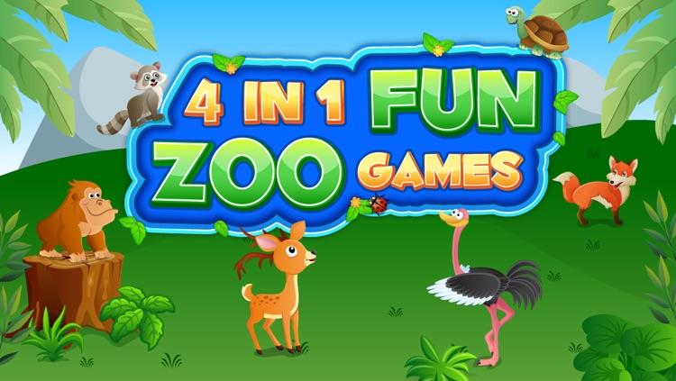 4 In 1 Fun Zoo Games Pro