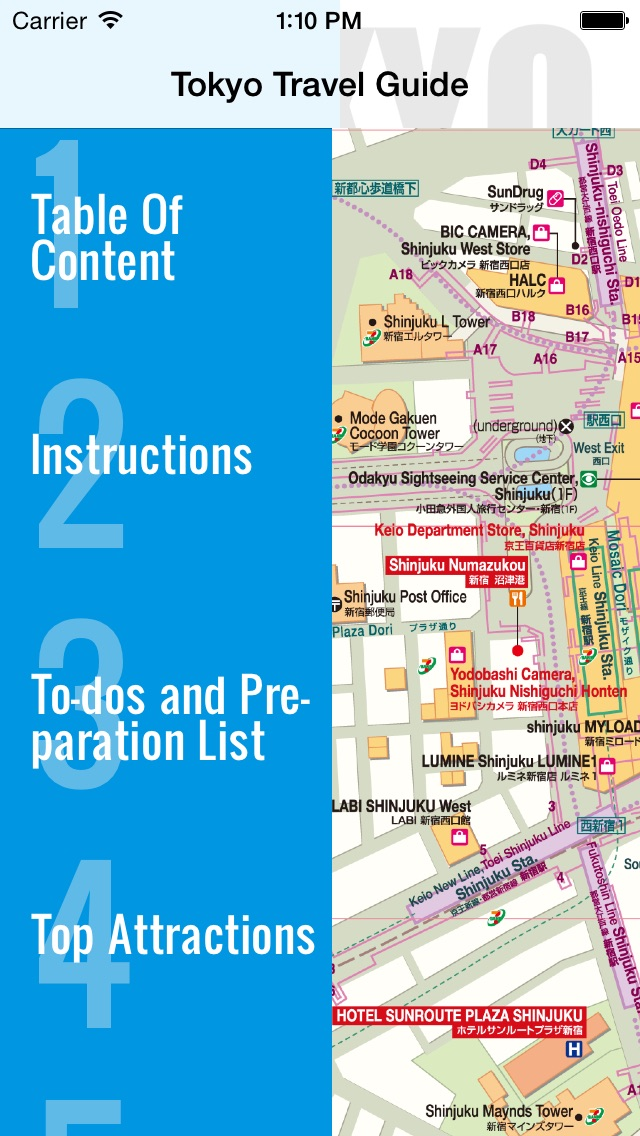 Tokyo Travel Guide And Offline Map Tokyo Metro Tokyo Subway - Japan map offline