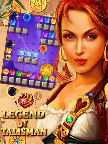 Screenshot #1 for Legend of Talisman: Match-3 Physics Puzzle Crush
