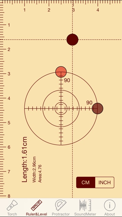 download ytools-flashlight,ruler,spirit level,protractor and sound level meter apps 3