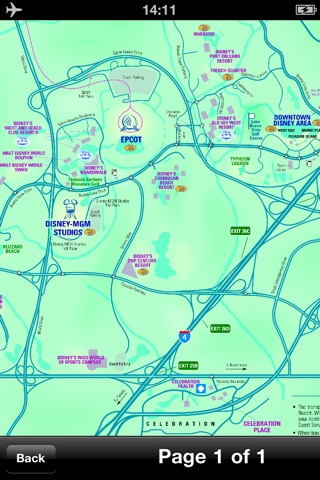Orlando Maps - Download City Maps and Tourist Guides. screenshot 3