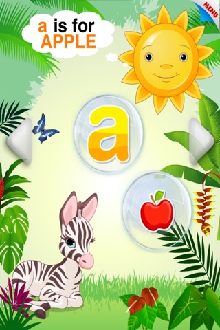 Abby Monkey® Baby Bubble Activity School: Educational Flash Cards Kids Learning Games for Toddlers and Preschool Explorers screenshot 2