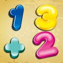 Baby number addition and subtraction icon