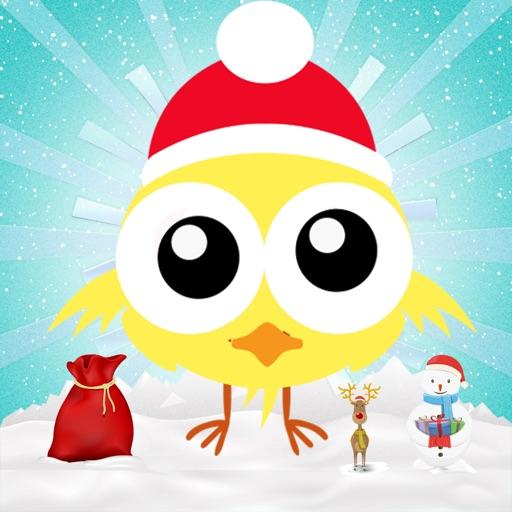 Flick Up Chritsmas Chick iOS App