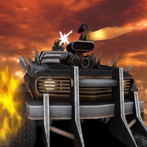 Death Race Burning Road iOS App