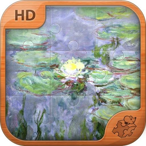 莫奈拼图。经典艺术系列 Monet Jigsaw Puzzles. Classic ART series