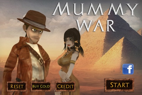 Mummy War screenshot 1