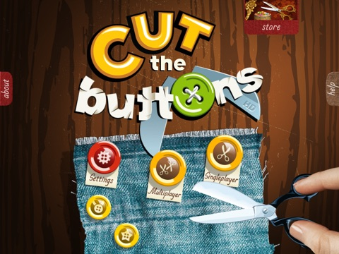 Cut the Buttons HD Screenshot