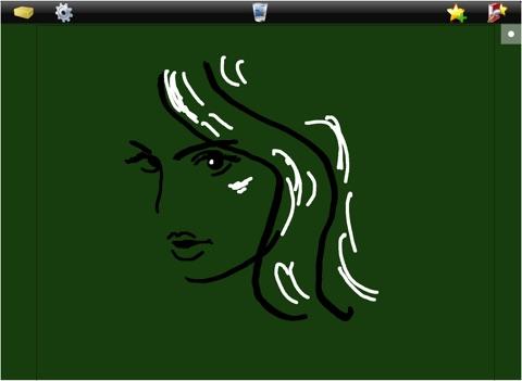 Tableau sur iPad pour écrire dessiner noter à la main screenshot 3