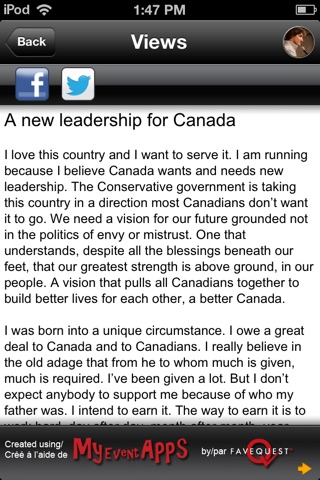 Justin Trudeau screenshot 2