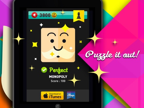 Screenshots of Icon Pop Quiz for iPad