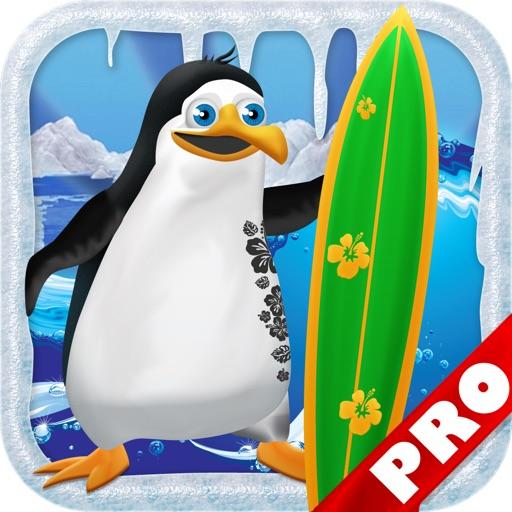 Penguin Surfer PRO FREE - A Fun Kids Game!