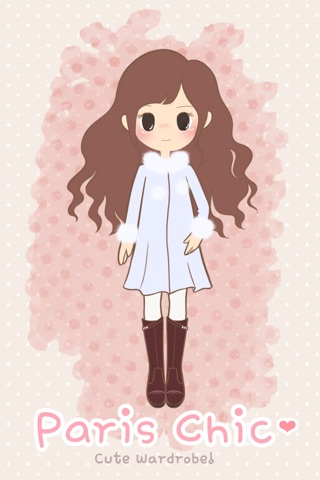 Paris Chic: Cute Dress Up Game screenshot 1