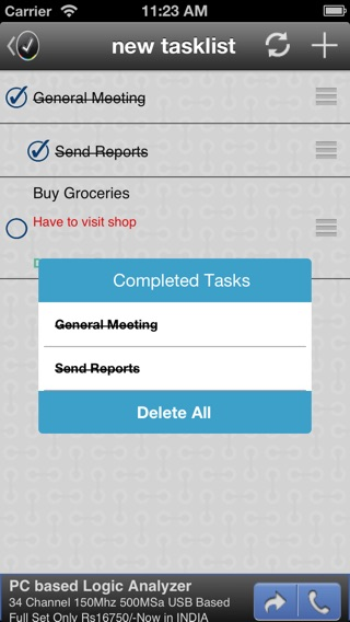 GoTasks - Google Tasks App Screenshot