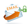 1 Password / Touch ID for all Email Accounts Icon