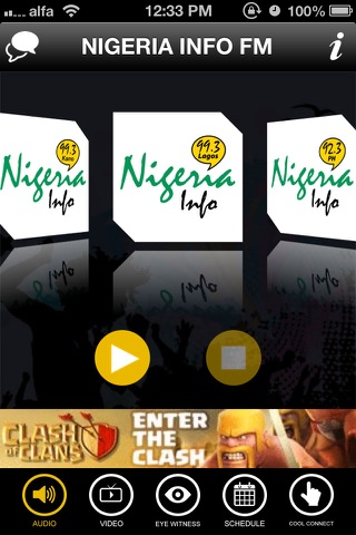 Nigeria Info FM screenshot 1
