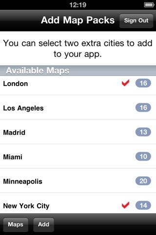 Detroit Maps - Download Smart Bus Maps and Tourist Guides. screenshot 4