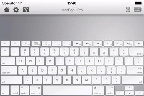 Remote Control Pro - Wireless trackpad, keyboard & numpad screenshot 2