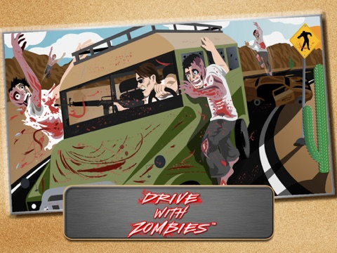 Screenshot #4 pour Drive with Zombies 3D