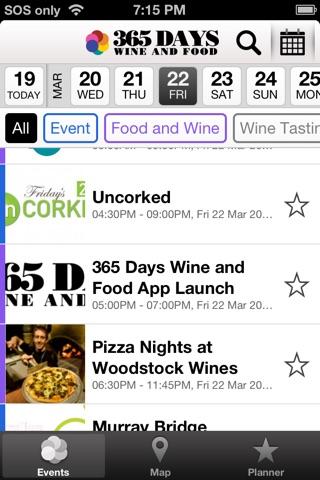 365 Days of Wine and Food screenshot 1