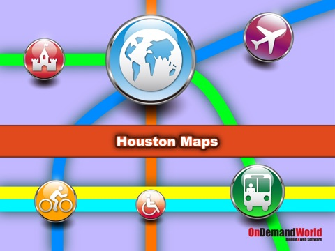 【旅行必备】 休斯顿(美国)地图  Houston Maps - Download Metro Maps and Tourist Guides.
