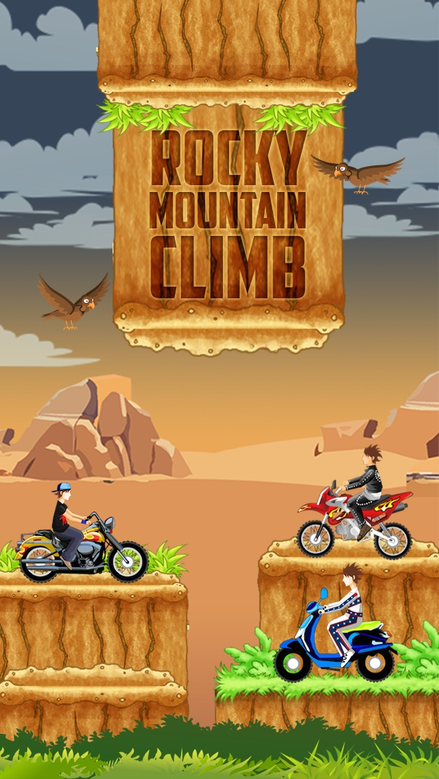 Монстр Dirtbike горы Hill Climb - Бесстрашный и Xtreme дрейфующих Спорт!Скриншоты 1