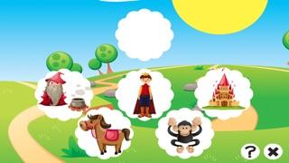 Screenshot of Cosa C'è di Sbagliato Nel Fairy Tale World? Trova Gli Errori! Formazione Libero Gioco Para Bambini3