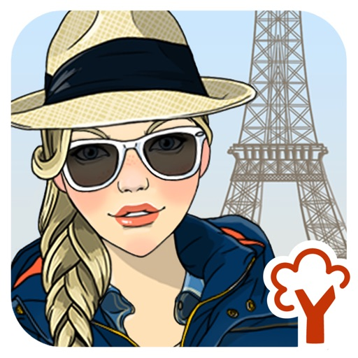 Walks in Paris Dressup and Makeover game iOS App
