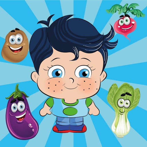 Learn Turkish with Little Genius - Matching Game - Vegetables iOS App
