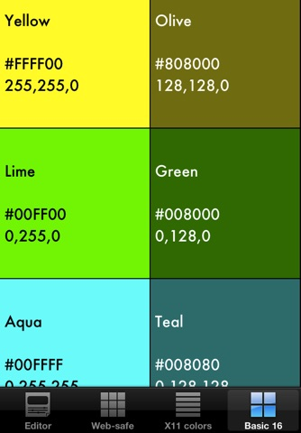RGB checker - Check many colors! screenshot 4