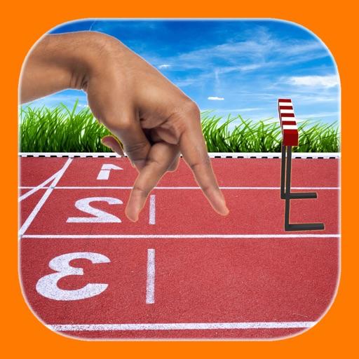 Finger hurdle run FREE iOS App